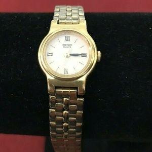 Vintage Seiko Quartz Ladies Gold Tone Watch
